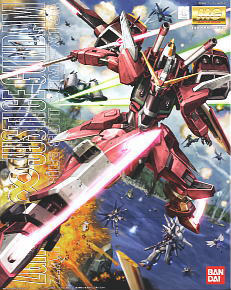MG Justice Gundam Z.A.F.T. Mobile Suit ZGMF-X19A
