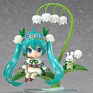 Nendoroid 493 -  Vocaloid - Hatsune Miku Snow Bell Ver. (Limited + Exclusive)
