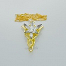 Lord of the Rings - Arven evenstar pendant and necklace (gold ver.)