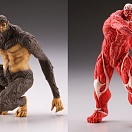 Attack on Titan - Shingeki no Kyojin - Capsule One - Colossal Titan and Beast Titan Set