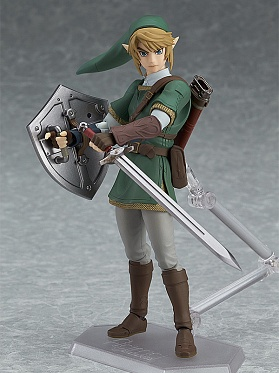 Figma 320 - Zelda no Densetsu: Twilight Princess - Link Twilight Princess ver., DX Edition