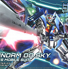 HG Build Divers #014 Gundam - GN-0000DVR/S Gundam 00 Sky