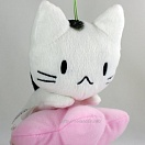 Manemane nekoneko plush - white