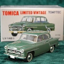 LV-148b - toyopet crown deluxe 1956 (green) (Tomica Limited Vintage Diecast 1/64)