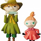 Moomin - Snufkin and  Little My