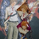 Death Note phone strap (pieces)