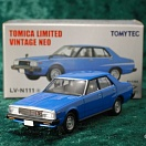 LV-N111a - nissan skyline 2000turbo gt-e-s 1980 (blue) (Tomica Limited Vintage Neo Diecast 1/64)
