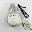 Tonari no Totoro - Totoro and small Totoro grey - purse large