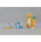 Pokemon Plamo 29 - Pocket Monsters Best Wishes! - Kairyu (Dragonite) Evolution Set