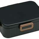 Bento Box - Lunch Box Earth Color Black