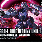 "HGUC (#207) - RX-79BD-1 Blue Destiny Unit 1 ""Exam"""