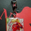 Evangelion phone strap (metal picture) - Asuka