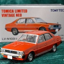 LV-N103a - mitsubishi galant Σ sigma 2000 gsr 1976 (red) (Tomica Limited Vintage Neo Diecast 1/64)