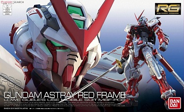 RG (#019) Gundam Astray Red Frame Lowe Guele s use Mobile Suit MBF-PO2