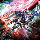Celestial Being Mobile Suit GN-0000+GNR-010 00 Raiser (MG)