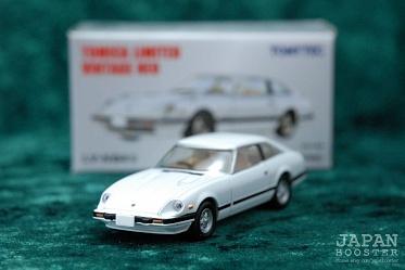 LV-N84b - nissan fairlady 280z-t 2by2 (white) (Tomica Limited Vintage Neo Diecast 1/64)