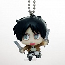 Deformed Mini Shingeki no Kyojin Chimi Chara Mascot 2 -  Attack on Titan Shingeki no Kyojin - Eren Jaeger