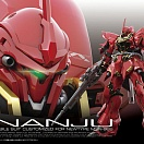 (RG #22) Sinanju Neo Zeon Mobile Suit Customized For Newtype MSN-06S