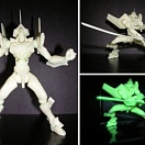 Revoltech 004 Evangelion  EVA-01 Test Type EXCLUSIVE! (glow version)