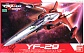 YF-29 Durandal Valkyrie Fighter Mode Alto Custom
