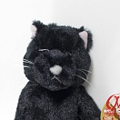Good Night Meow Stuffed Toy - Black Cat