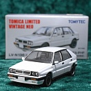 LV-N136b - lancia delta hf integrale (white) (Tomica Limited Vintage Neo Diecast 1/64)