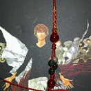 Death Note phone strap - L (red)