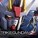 RG (#03) Aile Strike Gundam O.M.N.I. Enforcer Mobile Suit GAT-X105