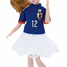 Soccer Japan's National Team Licca-chan 2014
