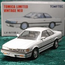 LV-N118a - nissan leopard ultima 1987 (white) (Tomica Limited Vintage Neo Diecast 1/64)