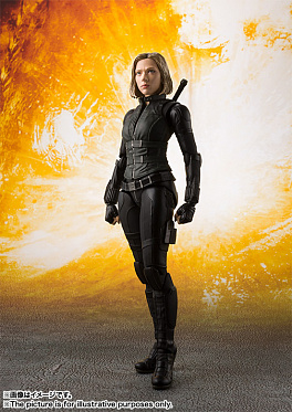 S.H.Figuarts - Avengers: Infinity War - Black Widow