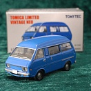 LV-N96b - toyota town ace van high roof 1300dx (blue) (Tomica Limited Vintage Neo Diecast 1/64)