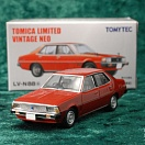 LV-N88a - mitsubishi galant Σ sigma eterna 1600 sl super 1978 (red) (Tomica Limited Vintage Neo Diecast 1/64)