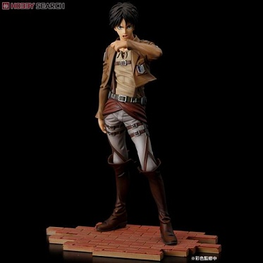 Attack on Titan Shingeki no Kyojin - Eren Yeager BRAVE-ACT Sentinel