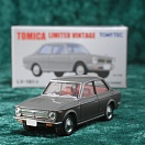 LV-161a - toyota corolla 1200 2door deluxe 1969 (gray) (Tomica Limited Vintage Diecast 1/64)