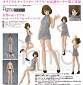 Figma 506 - Original Character - Chiaki Backless Sweater Outfit