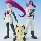 S.H.Figuarts - Pocket Monsters (Pokemon) - Musashi - Kojirou - Nyarth - Nyarth - Team Rocket