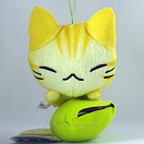 Manemane nekoneko plush - orange