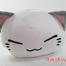 NEMUNEKO Mochiri Fukafuka Big Plush Doll - White ver.