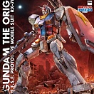 Gundam The Origin E.F.S.F. Prototype Mobile Suit RX-78-02 (MG)