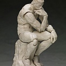 Figma SP-056b - The Table Museum - The Thinker Plaster Ver. (re-release)