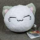 Nemuneko korogari plush doll - white