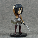 Attack on Titan Shingeki no Kyojin World Collectable Figure Vol. 1 - Mikasa Ackerman