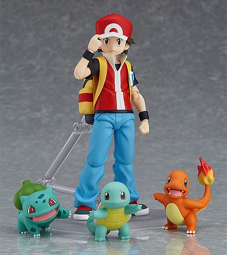 Figma 356 - Pokemon Pocket Monsters - Fushigidane - Hitokage - Pikachu - Red - Zenigame