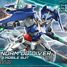 HG (#000) Gundam Build Divers - GN-0000DVR Gundam 00 Diver