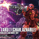 HG Gundam The Origin (#015) - MS-05 Zaku I (Char Aznable)