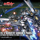 (HGUC) (#218) RX-9/A Narrative Gundam A-Packs