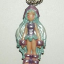 Shaman King mini keychain - girl
