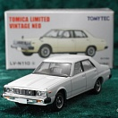 LV-N110a - nissan skyline 2000gt 1977 (white) (Tomica Limited Vintage Neo Diecast 1/64)