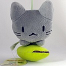 Manemane nekoneko plush - grey